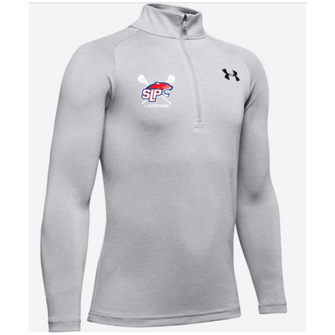 Spring Lake Park Lacrosse Youth Under Armour (TECH 2.0 1/2 ZIP) Mod Gray Light Heather