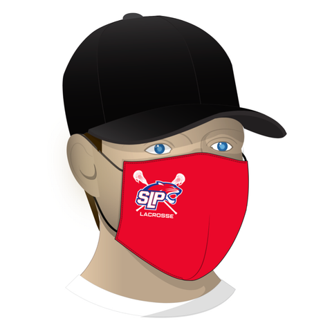 Spring Lake Park Lacrosse Face Mask - Red