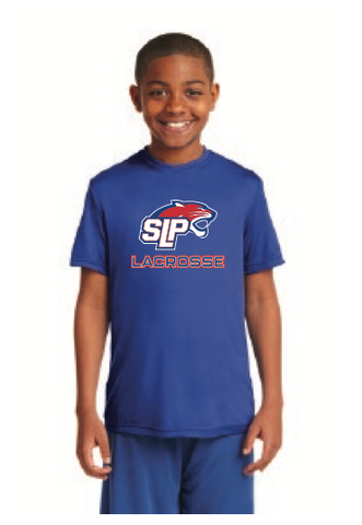 Spring Lake Park Lacrosse Youth Sport-Tek (PosiCharge Competitor Tee) Royal
