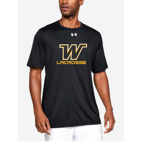 Wayzata Lacrosse Men's UA (Locker Tee 2.0 SS) Black