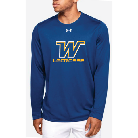 Wayzata Lacrosse Men's UA (Locker 2.0 Long Sleeve) Royal
