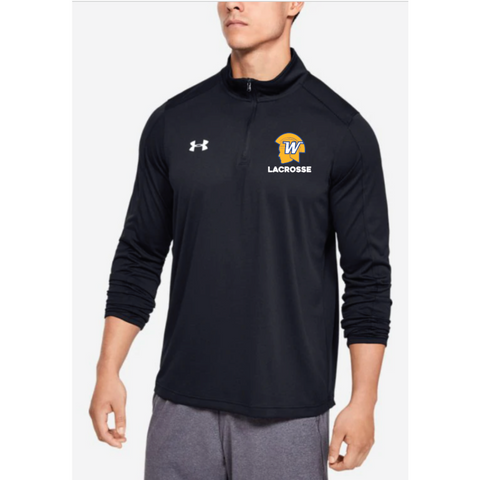 Wayzata Lacrosse Men's UA (Locker 1/4 Zip) Black