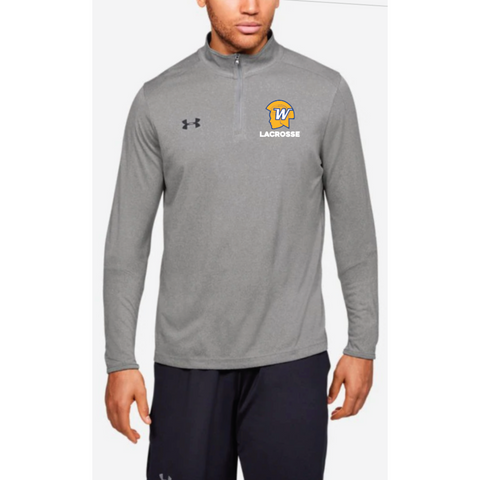 Wayzata Lacrosse Men's UA (Locker 1/4 Zip) True Gray Heather