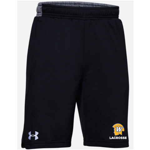 Wayzata Lacrosse Youth UA (Locker Pocketed Shorts) Black