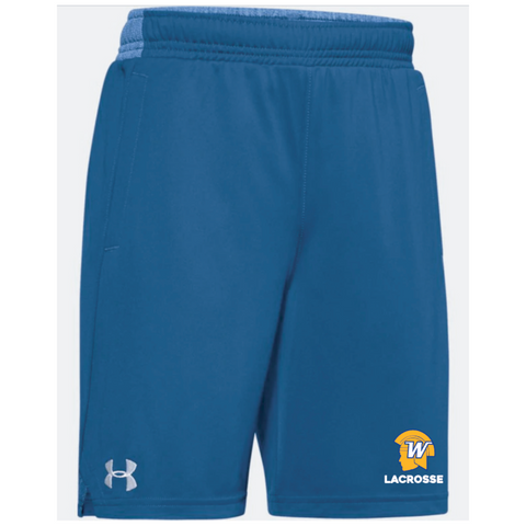 Wayzata Lacrosse Youth UA (Locker Pocketed Shorts) Royal