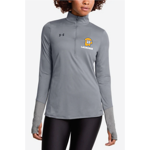 Wayzata Lacrosse Women's UA (Locker 1/2 Zip) Steel