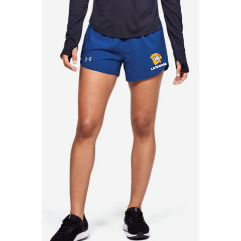 Wayzata Lacrosse Women's UA (Fly By 2.0 Short) Royal