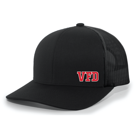VFD Pacific Headwear (TRUCKER MESH) Black