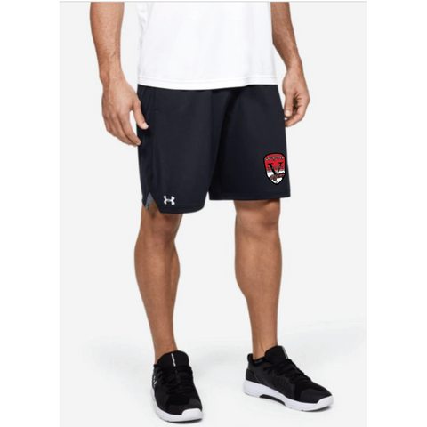 "VFD Men's Under Armour (Locker 9"" Pocketed Shorts) Black"