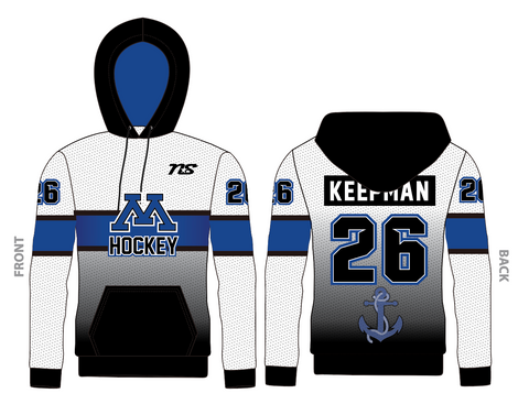 Minnetonka Hockey Sublimated Hoodie
