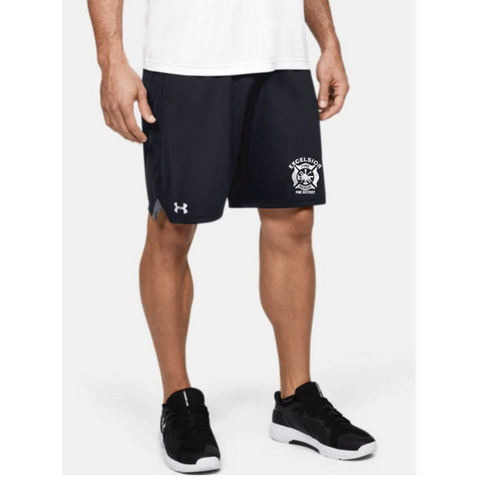 Excelsior Fire Department (UnderArmour Locker Pocketed Shorts) - Black