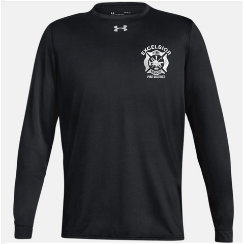 Excelsior Fire Department (UnderArmour Locker Tee LS) - Black