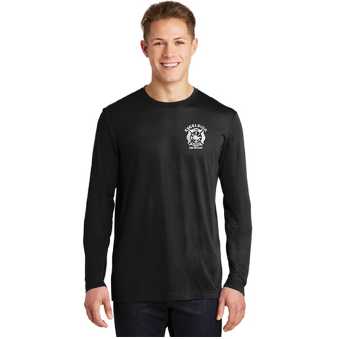 Excelsior Fire Department (SportTek Long Sleeve) - Black