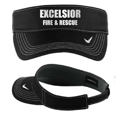 Excelsior Fire Department (Nike Dri-FIT Swoosh Visor) - Black