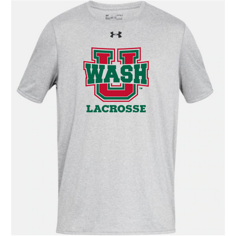 Wash U Men's Under Armour Tee - Grey