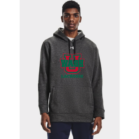 Wash U Men's Under Armour Hoodie - Charcoal Gray