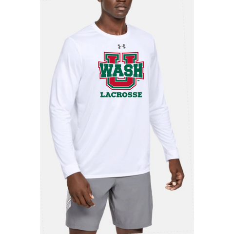 Wash U Men's Under Armour Long sleeve - White