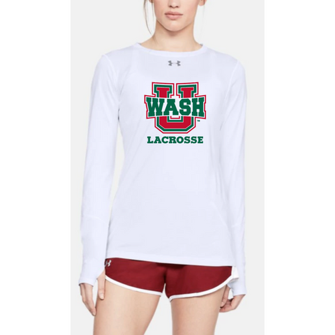 Wash U Women's Under Armour Long sleeve - white