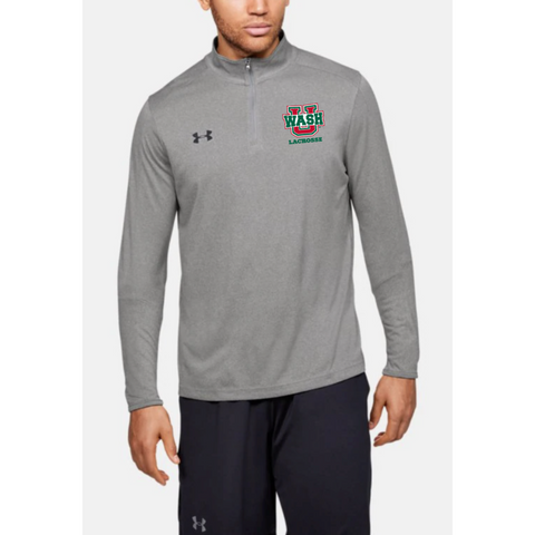 Wash U Men's Under Armour 1/4 Zip Pullover - Gray