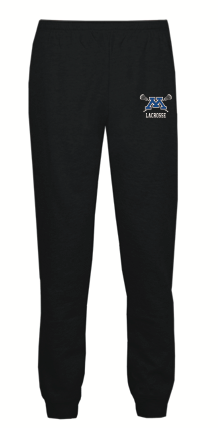 Minnetonka Lacrosse Youth Badger (Athletic Fleece Jogger Pants) Black