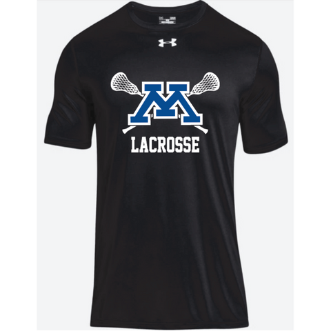 Minnetonka Lacrosse Men's UA (Locker Tee 2.0) Black