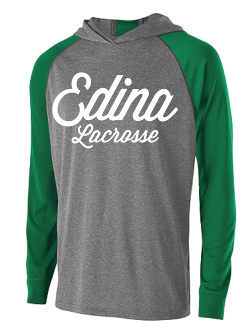Edina Lacrosse Men's Holloway (ECHO HOODIE) Green