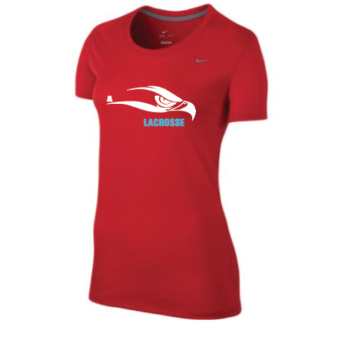 Arrowhead Lacrosse Women's Nike (Legend Training Short-Sleeve Top) Red