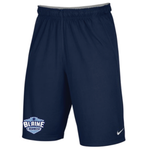 Blaine Lacrosse Men's Nike Flex Woven (SHORT) Navy