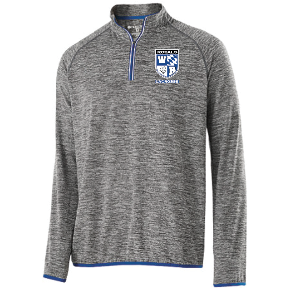 Woodbury Lacrosse Men's Holloway (FORCE TRAINING TOP) Royal/Graphite