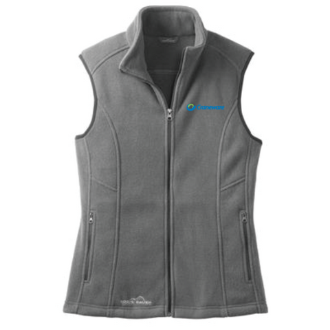 Craneware Women's Eddie Bauer (Fleece Vest) Gray