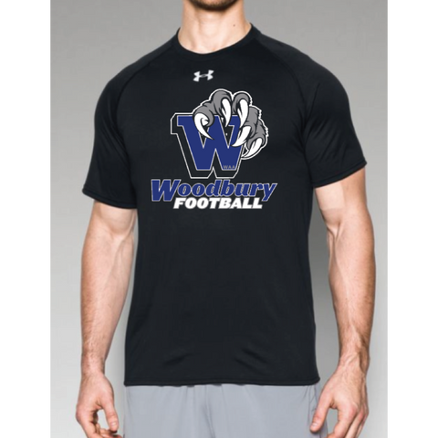 Woodbury Football Men's UA (Locker T) Black