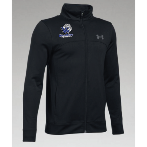 Woodbury Football Youth UA (Pennant Warm-Up Jacket) Black