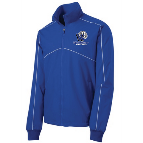 Woodbury Football Men's Sport-Tek® (Shield Ripstop Jacket) Royal