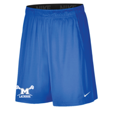 Mandeville Lacrosse Men's Nike (2 POCKET FLY SHORT) Royal
