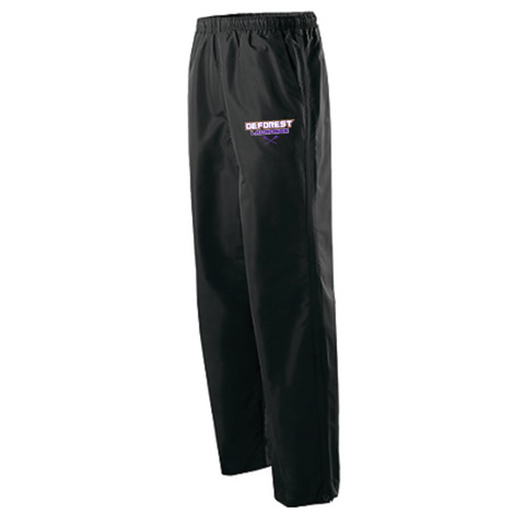 DeForest Lacrosse Men's Holloway (PACER PANT) Black