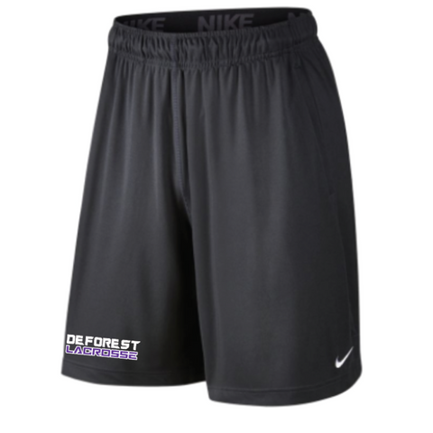 **Coach Recommended** DeForest Lacrosse Men's Nike (2 POCKET FLY SHORT) Anthracite