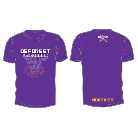 **Coach Recommended** DeForest Lacrosse Sublimated Shirt