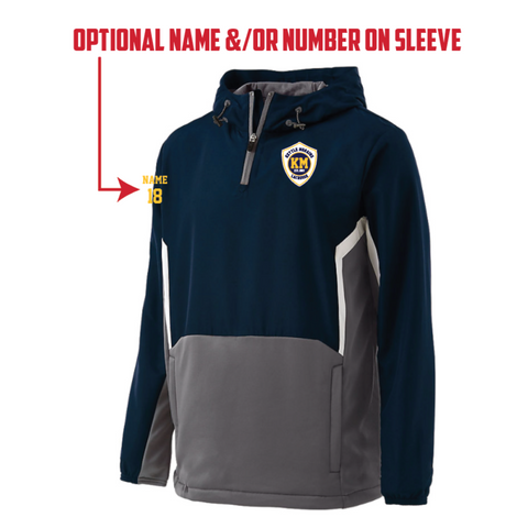 KM Lacrosse Men's Holloway (Potential Pullover) Navy