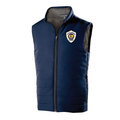 KM Lacrosse Men's Holloway (ADMIRE VEST) Navy