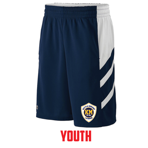 KM Lacrosse Youth Holloway (Helium Short) Navy