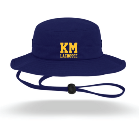 KM Lacrosse Pacific Headwear (Bucket Hat) Navy