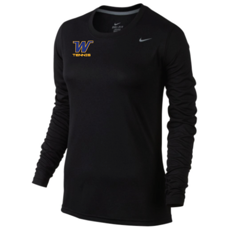 Wayzata Tennis Women's Nike (W'S LEGEND L/S T) Black
