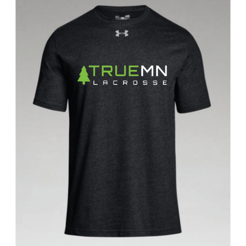 True MN Lacrosse Men's Under Armour (Stadium T SS) Black