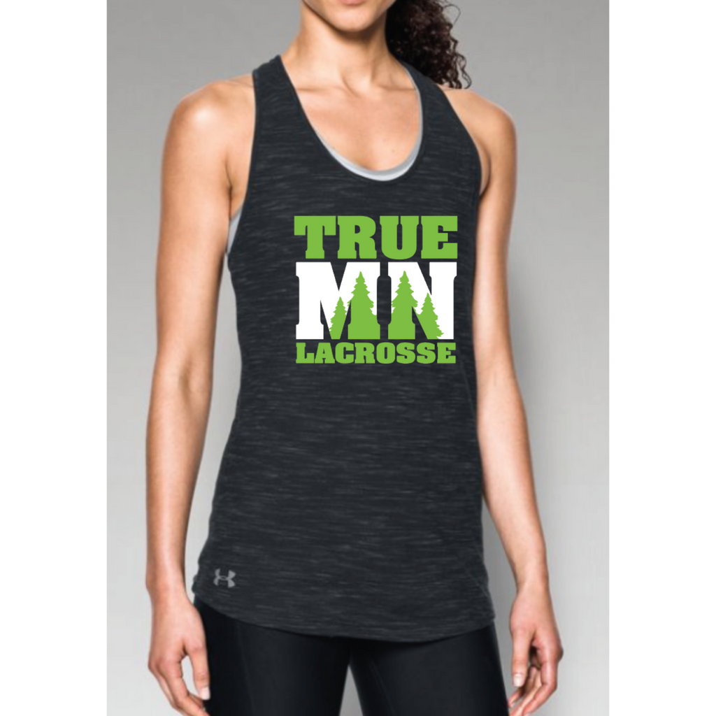 True MN Lacrosse Women's Under Armour (Stadium Tank) Black