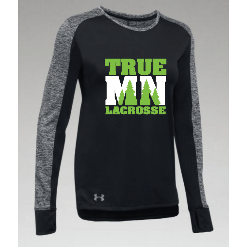 True MN Lacrosse Women's Under Armour ( Favorite Longsleeve) Black