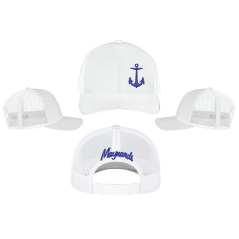 Maynards Snap Back (TRUCKER MESH) White