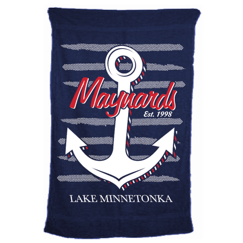 "Maynards Microfiber Terry Beach Towel 28"" x 56"""