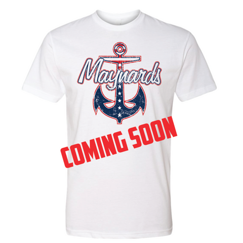 Coming Soon Maynards Unisex (Poly/Cotton Crew) White