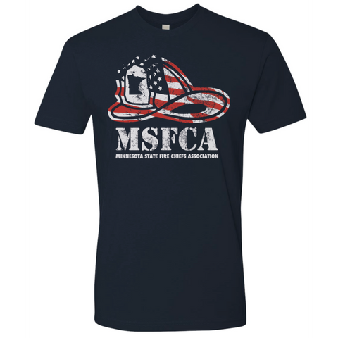 MSFCA Helmet Adult Next Level (Premium SS Crew) Navy