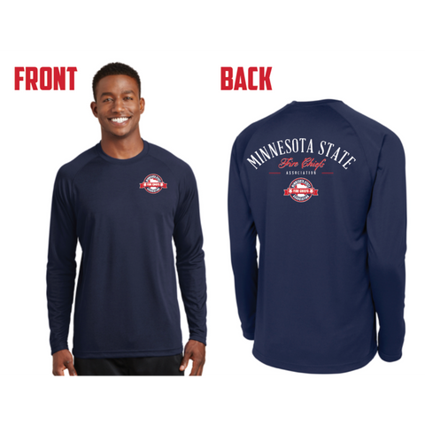 MSFCA Men's Sport-Tek (Dry Zone® Long Sleeve Raglan T-Shirt) Navy